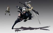 POSTER NIER: AUTOMATA NIER ANDROID YORHA 2B 9S A2 ROBOT GAME GIOCO PS4 FOTO #19