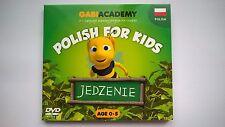 """DVD Polish for Kids Part 1: """"Food""""; DVD Polski dla Dzieci czesc 1: """"JEDZENIE"""""""