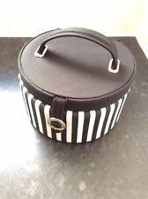 Authentic Thomas Sabo Charm Club Black & White Stripe Jewellery Box Compartments