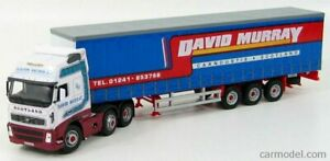 CARARAMA VOLVO FH12 CARGO DAVID MURRAY 1 50 SCALE DIECAST MODEL. NEW