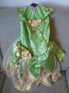 Disney Princess Tiana (Princess And The Frog) Dressing Up Costume Outfit Age 3-4