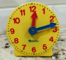 "ETA Learning Resources Geared Mini Clock 4""Teaching Homeschool"