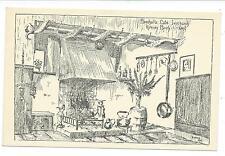 KENT - MARSHALL'S CAFE, IVYCHURCH nr ROMNEY MARSH Artist signed RODNEY Postcard