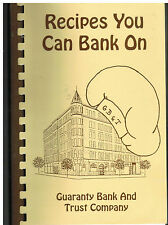 *CEDAR RAPIDS IA 1993 RECIPES YOU CAN BANK ON COOK BOOK *GUARANTY BANK & TRUST