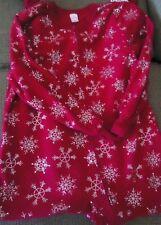 Jewel Red Diamond Footed Pajamas Snowflake Footie 1 Piece NEW XL LAST ONE HTF