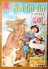 RINTINTIN ET RUSTY GEANT mensuel n° 90 vedettes TV 1967
