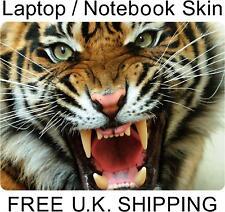 "15.4 ""Tiger Vinilo Laptop Skin Sticker"