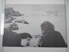 Vintage 1970 TO BE LOVED Poster George Eliot Ocean Beach Book Rack Posters NOS