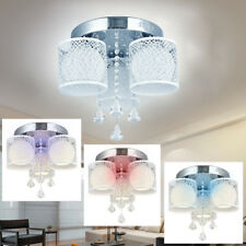Kristall Dimmbar LED Hängelampe Deckenlampe Kronleuchter Luster Pendelleuchte