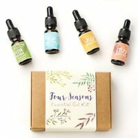 4 Seasons Aromatherapy Blend Essential Oil Kit - Premium Pure Therapeutic grade