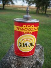 Vintage Winchester 3 Oz. Lead Top Gun Oil Can ~ Empty
