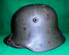 "GERMAN MODEL 1916 / M16 ""STAHLHELM"" HELMET, c/w LINER & STRAP, ESTATE FOUND..."