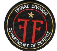 Fringe ecusson department of defense division univers parallele red Fringe patch