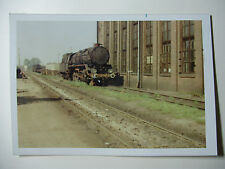 POL193 - 1970s PKP POLISH STATE RAILWAYS - STEAM LOCOMOTIVE PHOTO Poland