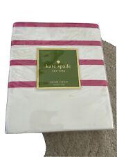 kate spade shower curtain - Harbour Stripe (pink)