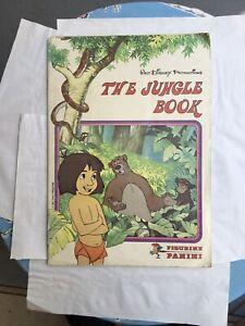 Vintage Walt Disney The Jungle Book Sticker Album 100% Complete 1983 Panini