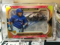 VLADIMIR GUERRERO 1/1 RC 2019 Five Star Pentamerous Penmanship Blue Jays