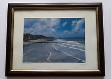 Framed photograph of CROMER BEACH 2007