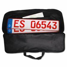 Zulassungstasche KFZ Kennzeichentasche Nummernschildtasche Transport Zulassung