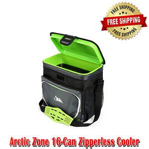 Arctic Zone Zipperless Cooler Lid Removable SmartShelf Adjustable Straps, 16-Can