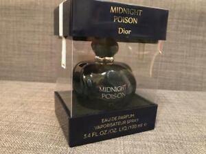 Christian Dior Midnight Poison 3.4 Oz Eau de Parfum Woman's Spray NEW WITH BOX!!