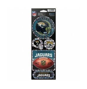 Jacksonville Jaguars Decal 4x11 Die Cut Prismatic Style **Read Description