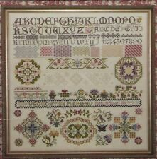Parchment Tapestry Sampler Rosewood Manor Kubla Cross Stitch Pattern