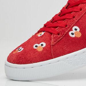 Puma X Sesame Street ELMO RED [363269-02] US 7.5 UK 6.5 EUR 40 CM 25.5