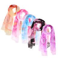 HOT! Fashion Ladies Womens Long Soft Silk Chiffon Scarf Wrap Shawl Scarves Stole