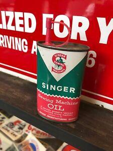 Singer Sewing Machine Oiler 3floz Vintage