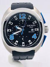 Orologio Locman Mare Chrono 47mm 130KKBL/590 Titanio/Gomma Scontatissimo Nuovo