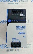 ALLEN BRADLEY 1606-XLS240E SER A POWER SUPPLY 1 PHASE 24V 10A 240W