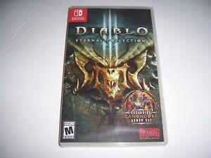 Original Box Case Replacement Nintendo Switch Diablo III 3 Eternal Collection