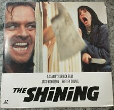 The Shining Laserdisc Jack Nicholson Shelly Duvall Stephen King Stanley Kubrick