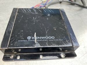 Vtg Kenwood KAC-501 2-Channel Car Amp Amplifier Stereo Music