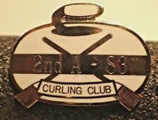 Curling Club Pin - 2nd A - 88