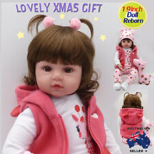 Vinyl Silicone Reborn Doll Real Life Like Looking Newborn Baby Dolls Girl Gift