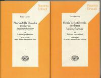 Cassirer Storia filosofia moderna III Sistemi postkantiani 2 volumi tomo 1-2