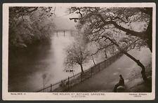Scotland. Glasgow. The Kelvin at Botanic Gardens 1909 Davidson Bros R.Photo Card