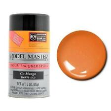 Testors Model Master DODGE GO MANGO ORANGE  Spray Paint Can  3 oz.  28106