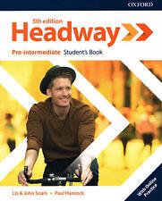 Oxford HEADWAY Pre-intermediate FIFTH / 5th EDITION Student's Book @NEW@