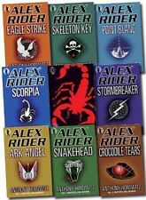 Alex Rider Collection 9 books Set By Anthony Horowitz. (Scorpia Rising Stormbrea