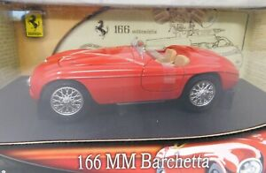 1/18 Mattel Hot Wheels 166MM Barchetta in red #B6054 UNOPENED