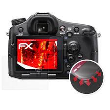 3x Anti Shock Screen Protector voor Sony Alpha a77 II ILCA-77M2 mat&flexibel