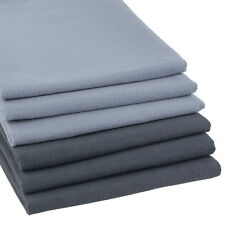 6er Set hochwertige Geschirrtücher Grau und Anthrazit Küchen-Handtuch Küche