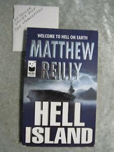 Hell Island - Matthew Reilly  OzSellerFasterPost!