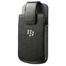 OEM BlackBerry Hand-Crafted Leather Swivel Holster Case Pouch ACC-50879-101 Q10