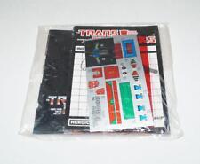 Sludge Decal Sticker Sheet PACKET G1 Transformers 1985 Vintage Hasbro