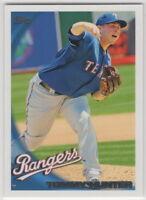 2010 Topps Baseball Texas Rangers Team Set Series 1 2 and Update