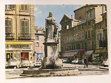 Le Cite du Roy Rene Aix en Provence Statue de Roy Rene 4x6 Postcard A29